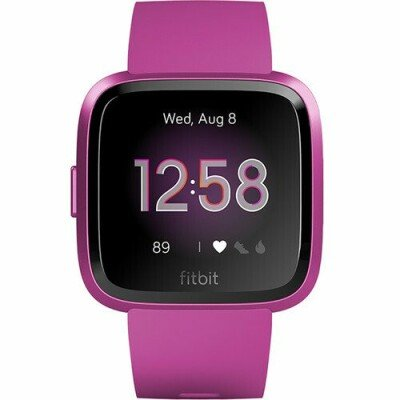 Fitbit Versa Lite Fitness Trackers S/L, Mulberry/Mulberry Aluminum