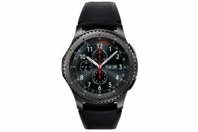 SMARTWATCH GALAXY GEAR S3 4GB/BLACK SM-R760NDAAROM SAMSUNG