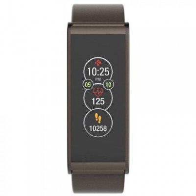 MyKronoz Smartwatch  Zefit4 HR 80 mAh, Touchscreen, Bluetooth, Heart rate monitor, Brown, Activity tracker with smart notifications,