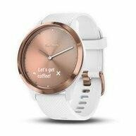 SMARTWATCH VIVOMOVE HR/WHITE/GOLD 010-01850-22 GARMIN