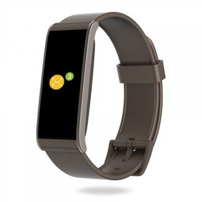 MyKronoz Smartwatch  Zefit4  Activity tracker with smart notifications, Brown, 80 mAh, Touchscreen, Bluetooth,