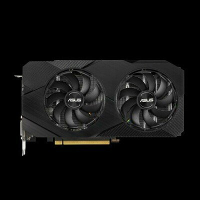 ASUS ROG DUAL-GTX1660-O6G-EVO graphics card GeForce GTX 1660 6 GB GDDR5