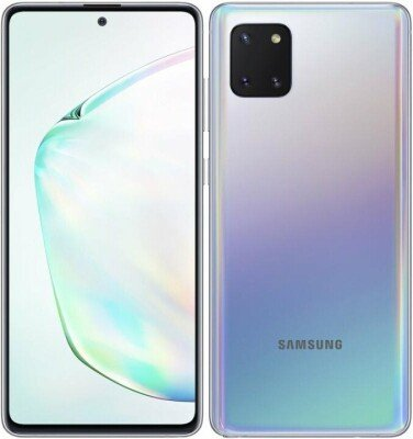 "Samsung Galaxy Note 10 Lite N770F (Aura Glow) Dual SIM 6.7"" Super AMOLED 1080x2400/2.7GHz&1.7GHz/128GB/8GB RAM/Android 9.0/WiFi,BT,4G"