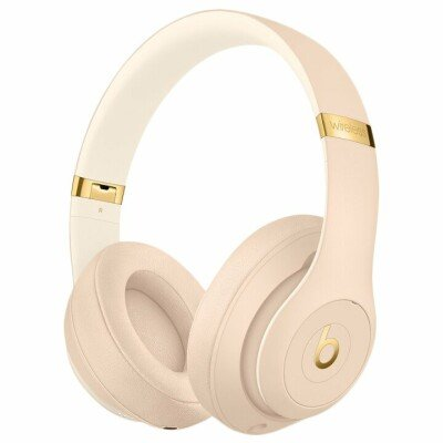 Beats Studio3 Wireless Headphones - The Beats Skyline Collection - Desert Sand, Model A1914