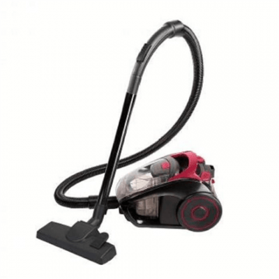 DomoClip Vacuum cleaner DOH111R Bagless, Black/ red, 700 W, 2.5 L, A, A, D, A, 78 dB,