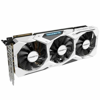 Gigabyte GV-N207SGAMINGOC WHITE-8GC NVIDIA, 8 GB, GeForce RTX 2070 SUPER, GDDR6, PCI-E 3.0 x 16, Processor frequency 1815  MHz, Memory clock speed 14000  MHz, DVI-D ports quantity 3, HDMI ports quantity 1