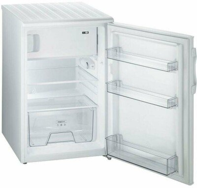 Gorenje Refrigerator RB4091ANW Free standing, Free standing, Height 84.5 cm, A+, Fridge net capacity 97 L, Freezer net capacity 16 L, 39 dB, White