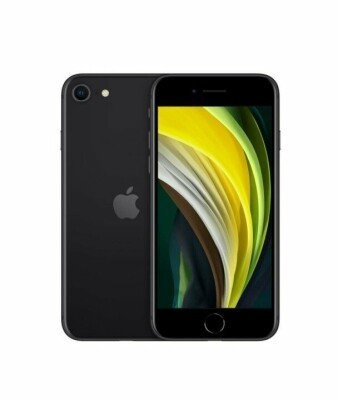 MOBILE PHONE IPHONE SE (2020)/64GB BLACK MHGP3 APPLE