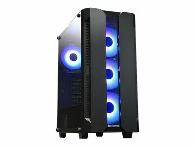 Dators  Intel Core I3-10100 3.6/4.30GHz/MB GIGABYTE  MATX H410M/DDR4 16Gb 2x8GB 2666MHz / Gigabyte NVIDIA RTX 3060 EAGLE OC 12GB/ SSD 480Gb / PSU 600W/ Case ATX CHIEFTEC Hunter gaming RGB
