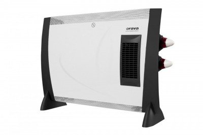 ORAVA Heating Convector EK-2003 Number of power levels 2, 800/ 2000 W, White/ black