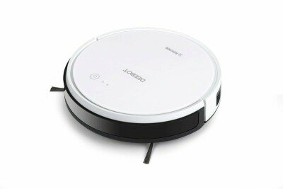Ecovacs Floor cleaning robot DEEBOT 605 EU Warranty 24 month(s), Battery warranty 6 month(s), Robot, White, 0.3 L, 64 dB, Cordless, 110 min