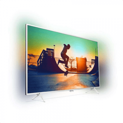"Philips 32PFS6402/12 32"" (81 cm), Smart TV, Full HD Ultra Slim LED, 1920x1080 pixels, Wi-Fi, DVB T/C/T2/T2-HD/S/S2, Silver"