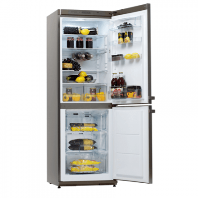 Snaige Refrigerator RF31NG-Z1CB223721Z185SN1X Free standing, Combi, Height 176 cm, A++, Fridge net capacity 191 L, Freezer net capacity 74 L, 41 dB, Stainless steel