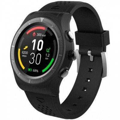 Color display: 1.3″ IPS Full Screen 240 x 240pxChipset: MTK2502C MediatekSystem: Nucleus MediatekRAM / ROM: 64/128 MbLocation: GPSBluetooth: 4.0LE + 3.0Built-in heart rate monitor, pedometerBuilt-in altimeter, barometer, thermometerSmart wake