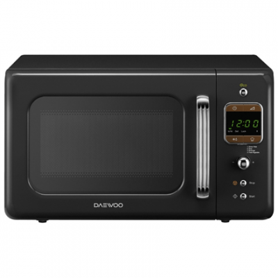 DAEWOO Microwave oven KOR-6LBRB  Electronic, 800 W, Black, Defrost function, Free standing