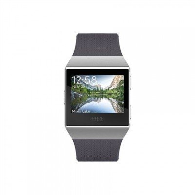 Fitbit Ionic Colour LCD, 320 g, Touchscreen, Bluetooth, Heart rate monitor, Blue Gray/White, GPS (satellite)