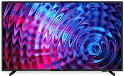 "Philips 43PFS5803/12 43"" (108 cm), Smart TV, Full HD  Slim LED, 1920 x 1080 pixels, DVB T/C/T2/T2-HD/S/S2, Black"