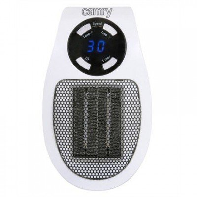 Camry CR 7712 Electric heater, 700 W, Suitable for rooms up to 32 m², White/ black