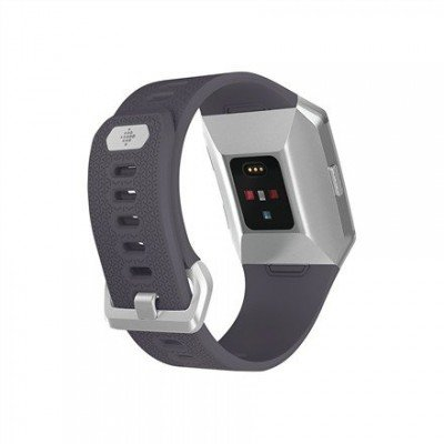 Fitbit Ionic Colour LCD, 320 g, Touchscreen, Bluetooth, Heart rate monitor, Charcoal/Smoke Gray, GPS (satellite)