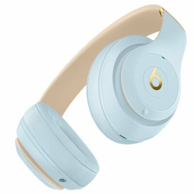 Beats Studio3 Wireless Headphones - The Beats Skyline Collection - Crystal Blue, Model A1914