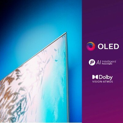 "Philips 55OLED805/12 TV 139.7 cm (55"") 4K Ultra HD Smart TV Wi-Fi Grey"