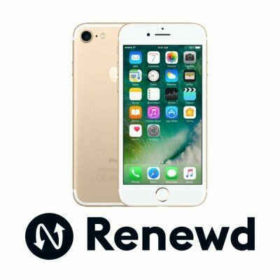 Smartphone | APPLE RENEWD | iPhone 7 refurbished Renewd | 32 GB | Gold | 3G | LTE | OS iOS 11 | Screen  4.7"