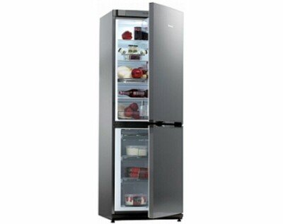 Snaige Refrigerator RF27SM-S1CB210 Free standing, Combi, Height 150 cm, A+, Fridge net capacity 173 L, Freezer net capacity 54 L, 40 dB, Stainless steel