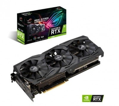 Asus ROG-STRIX-RTX2060-O6G-GAMING NVIDIA, 6 GB, GeForce RTX 2060, GDDR6, PCI Express 3.0, Processor frequency 1395 MHz, HDMI ports quantity 2, Memory clock speed 14000 MHz