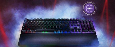 Razer Huntsman Elite – Opto-Mechanical Gaming Keyboard– Nordics Layout – US Layout
