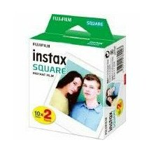 FILM INSTANT COLOR INSTAX/SQUARE GLOSSY 2X10PK