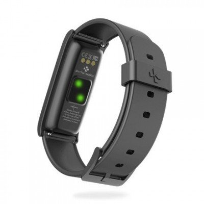 MyKronoz Smartwatch  Zefit4 HR Black/Black, Activity tracker with smart notifications, 80 mAh, Touchscreen, Bluetooth, Heart rate monitor,
