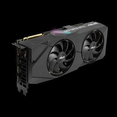 ASUS ROG DUAL-RTX2070S-A8G-EVO graphics card GeForce RTX 2070 SUPER 8 GB GDDR6