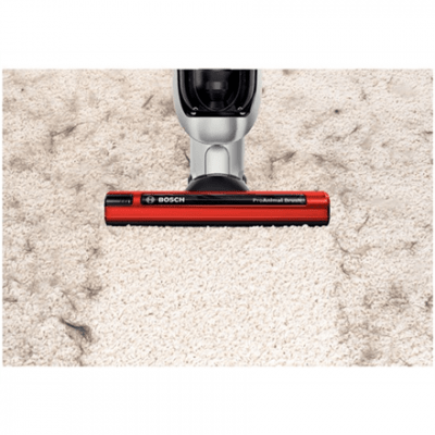 Bosch Vacuum cleaner BCH6ZOOO Handstick, Red, 0.9 L, HEPA filtration system, 60 min, 25.2 V, Cordless