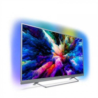 "Philips 7500 series 55PUS7503/12 55"" (140 cm), Smart TV, Ultra HD  4K Ultra Slim LED, 3840 x 2160  pixels, Wi-Fi, DVB-T/T2/C/S/S2, Silver"