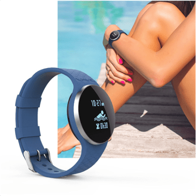 iHealth Wave AM4 Smart Activity Swim and Sleep Tracker  Waterproof, Black, 35 g, Built-in pedometer,