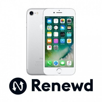 Smartphone | APPLE RENEWD | iPhone 7 refurbished Renewd | 32 GB | Silver | 3G | LTE | OS iOS 11 | Screen  4.7"