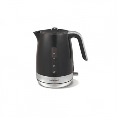 Morphy richards 101402 Standard kettle, Plastic, Black, 2200 W, 1.5 L, 360° rotational base