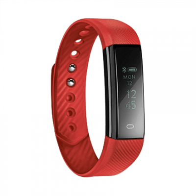 Acme Activity tracker ACT101R OLED, Touchscreen, Bluetooth, Built-in pedometer, Red,