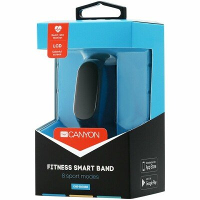 Smart band, colorful 0.96 inch TFT, pedometer, heart rate monitor, 80mAh, multi-sport mode, compatibility with iOS and android, Black, host:40*15.5*10.5mm, strap: 233*12mm, 18g