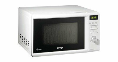 Gorenje Microwave oven MMO20DGWII 20 L, Free standing, Grill, Electronic, 800 W, White, Defrost function