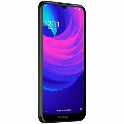"""Prestigio, S Max, PSP7610DUO, Dual SIM, 4G, 6.1"""", HD+(1560*720), 19.5:9, IPS, in-cell, 2.5D, Android 8.1 Oreo with 360 OS, Octa-Core 1.6GHz, 3GB RAM+32Gb eMMC, 5.0MP front+13.0MP AF triple-lens rear camera with flash light, 3000 mAh battery, Fingerprint, Dark night gradient."""