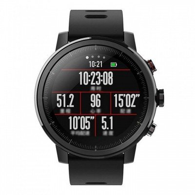 "Xiaomi Huami Amazfit Pace 2 Stratos (Black) OLED 1.34"" 1.2GHz/320x300 pixels/512MB&4GB/"