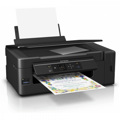 Epson L3070 Colour, Inkjet, Multifunction Printer, A4, Wi-Fi, Black