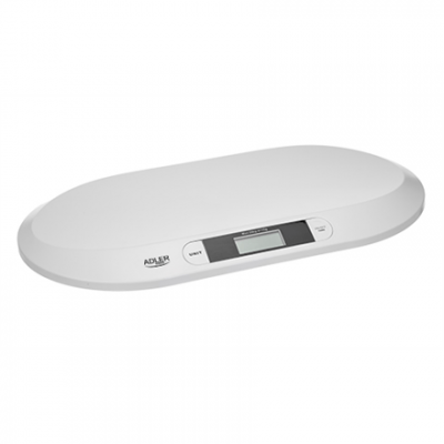 Adler AD 8139 Child Scale Adler Adler AD 8139  Maximum weight (capacity) 20 kg, Accuracy 10 g, White