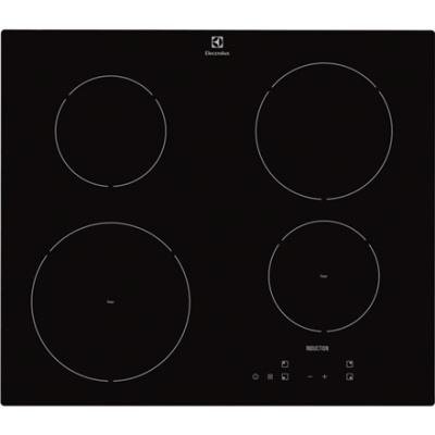 Electrolux EHH6240ISK Induction Hob/Touch control Electrolux Hob EHH6240ISK Induction, Number of burners/cooking zones 4, Black, Display,