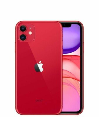 MOBILE PHONE IPHONE 11/128GB RED MHDK3 APPLE