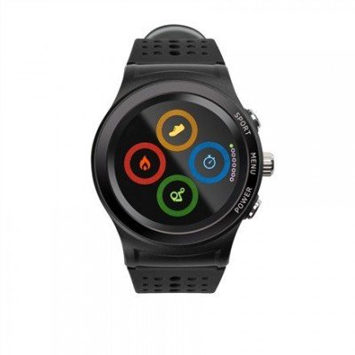 Acme Smartwatch with GPS HR SW301  Touchscreen, Bluetooth, Heart rate monitor, Black, Automatic and manual, GPS (satellite), Black,