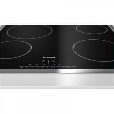 Bosch Hob PKE645FN1E Vitroceramic, Number of burners/cooking zones 4, Black, Display,
