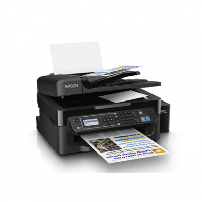 Epson L 565 Colour, Inkjet, Multifunction Printer, A4, Wi-Fi, Black