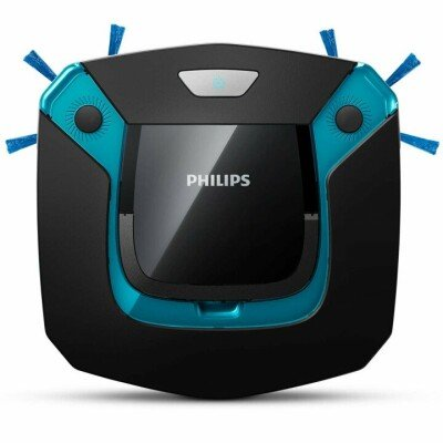 Philips SmartPro Easy vacuum cleaner  	FC8794/01 Robot, Black/ blue, 0.4 L, Cordless, 14.8 V, 105 min